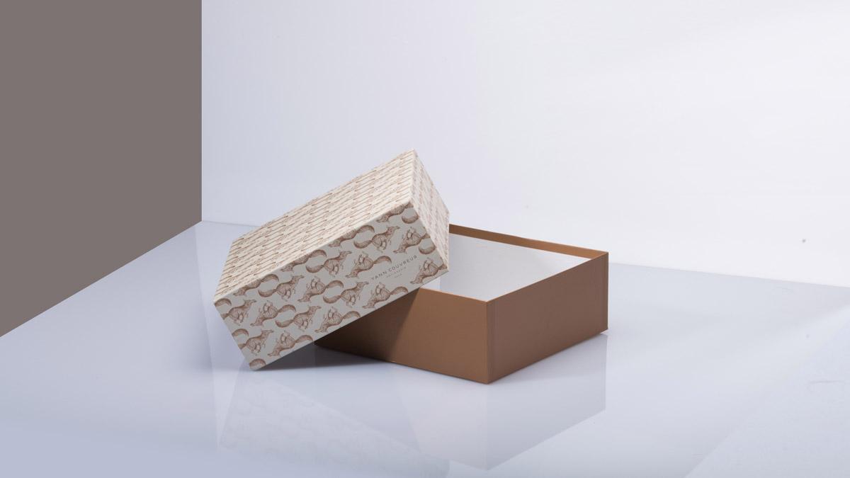 Stülpschachteln mit individuell gestaltetem Boden und Deckel