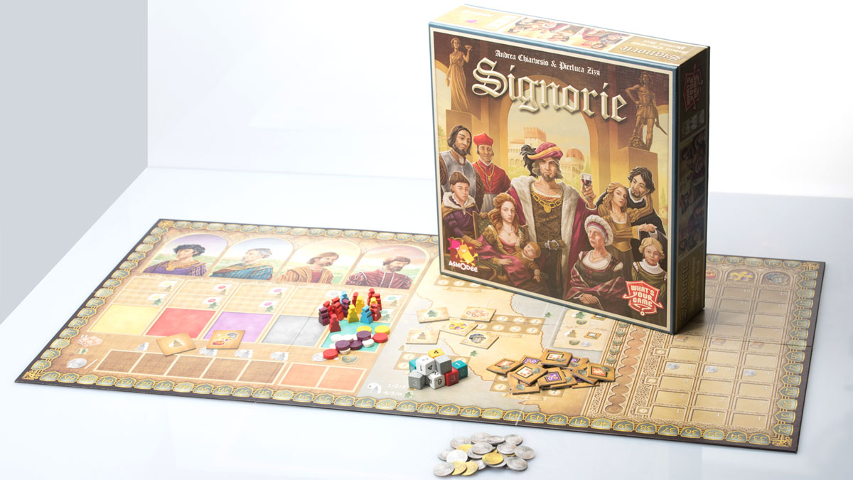 Manufacturer of board games